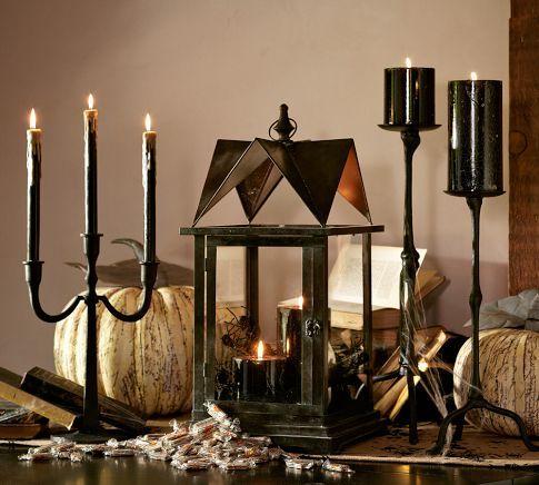 Black House Lantern | Pottery Barn
