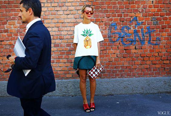 Milan Fashion Week Spring 2014: Street Style | Glamorously Chic