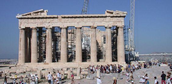 El Partenón, visitas en Atenas - http://www.absolutgrecia.com/el-partenon-visitas-en-atenas/