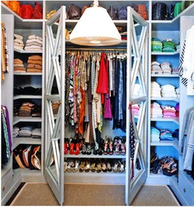 pictures of small walk-in closets | Wall Closet Design on Walk In Closet Designs