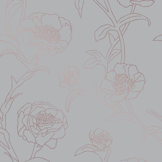 This subtle blooming pattern will bring a feminine feel to your space without being overly girly. We love it in a powder bath or entry way as an unexpected statement.