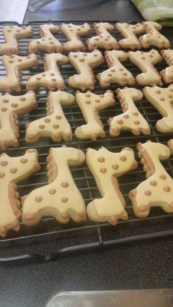 Cute Giraffe cookies