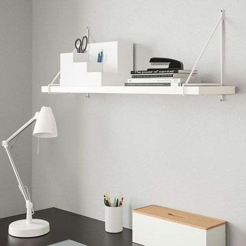 Pershult Bracket White 7 X11 White Wall Shelves Wall