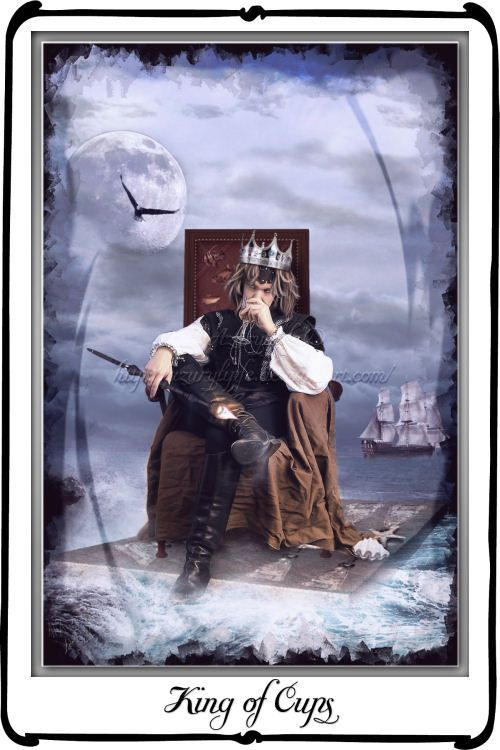 king of cups tarot | Tarot : King of Cups by azurylipfe on deviantART