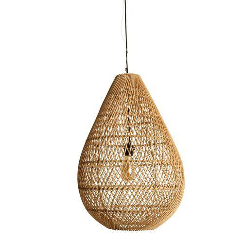 KANAWA LAMPSHADE Handmade rattan lamp shade, Wicker lamp, Rustic pendant light, chandelier, boho Pendant Light, Woven Lamp, light shade