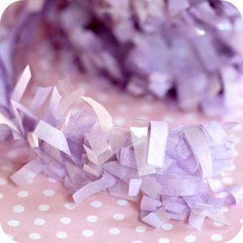 Festive Festooning in Lavender  by. Bake it Pretty