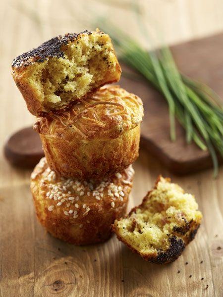 Herzhafte Muffins: Ungewöhnlich gut