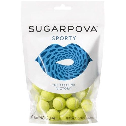 Sugarpova Sporty Tennis Ball Gum : Tennis Gifts & Novelties at HolabirdSports.com