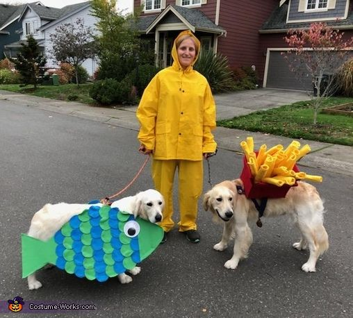 Fish Chips Halloween Costume Contest At Costume Works Com In