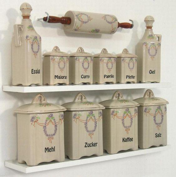 Ikea Küchendosen ~ gewürzregal dosen antik vorratsdosen küchendosen vorratsbehälter gewürzdosen ebay