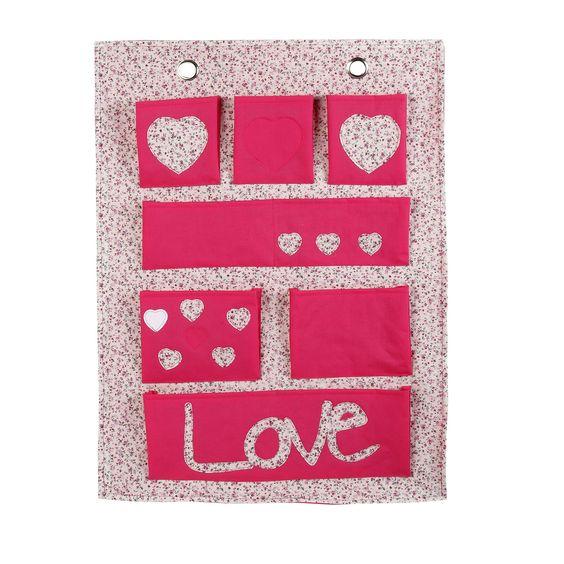 Vide-poche tissu liberty pour chambre d'enfant Rose - Maringa - Les boites de rangements - Rangements enfants - Tout pour le rangement - Décoration d'intérieur - Alinéa