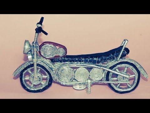 How To Make A Motorcycle Using Newspaper Diy Newspaper Bike