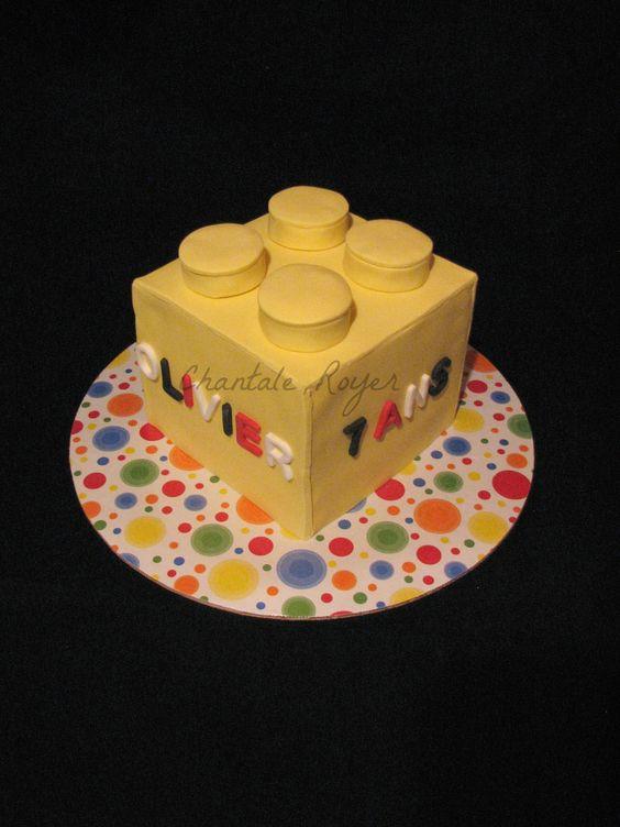 cake lego block gâteau bloc Lego