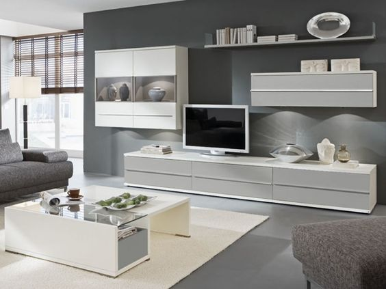 wohnzimmer grau weiß gestalten u2013 Dumss