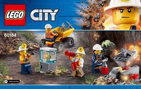 Mining Team Lego Lego City Lego City Sets