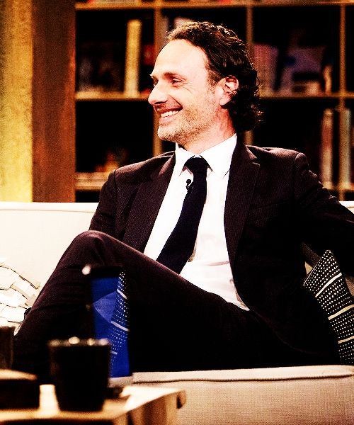 Andrew Lincoln on Talking Dead
