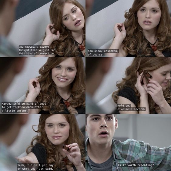 Stiles and Lydia | Teen Wolf