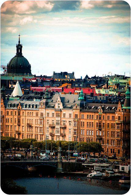 Stockholm by Xerethra, via Flickr