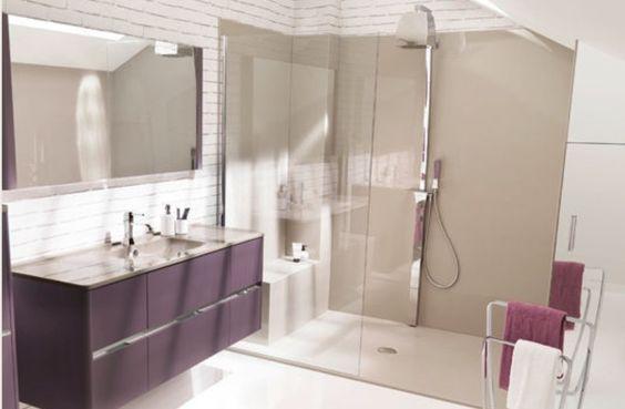 Salle de bain, douche Italienne