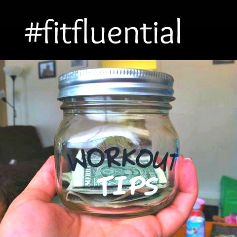 Give yourself a tip! this idea from Jenn Voss Fitness. Each time you workout or eat healthy - you earn a tip! then you can shop at the end of the month. #fitfluential
