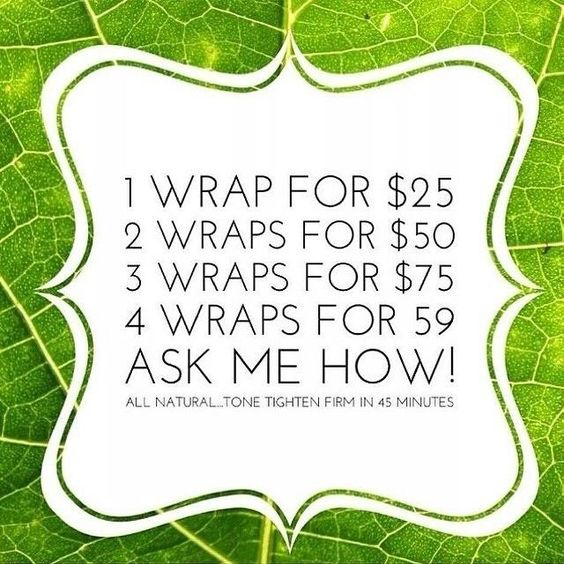 follow me @ https://www.facebook.com/inandouthealthy #tighten #firm #cellulite #stretchmarks #wraps