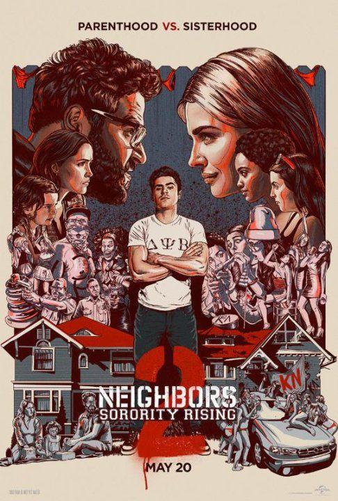 Neighbors 2 (2016) Movie Download BrRip 720P 300MB – Worldfree4u