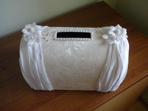 Красивый свадебный сундучок для денег своими руками