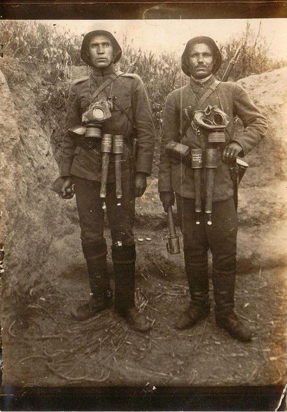 Немецкие гренадеры.