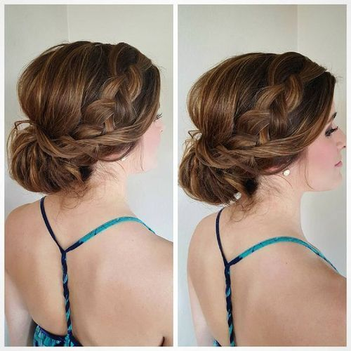Partial Updos For Medium Hair Up Dos For Medium Hair Medium Hair Styles Easy Updos For Medium Hair