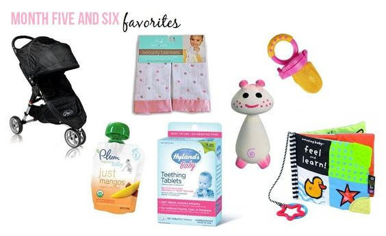 Little Baby Garvin: Five & Six Month Favorites