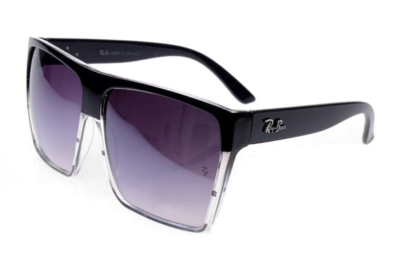 Ray Ban Clubmaster RB2128 Sunglasses Black/White Frame