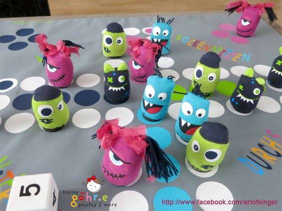 Mit Sockenspitzen durchs Monsterreich