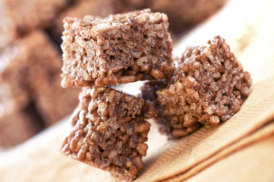 Rice cereal treats are a family staple, mix it up with this chocolate peanut…