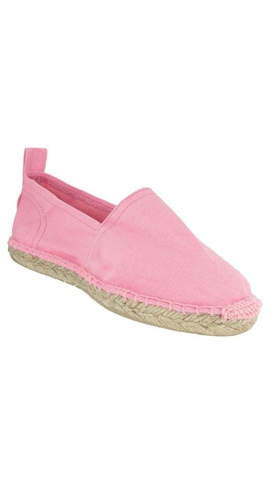 Solid Espadrille - Pink