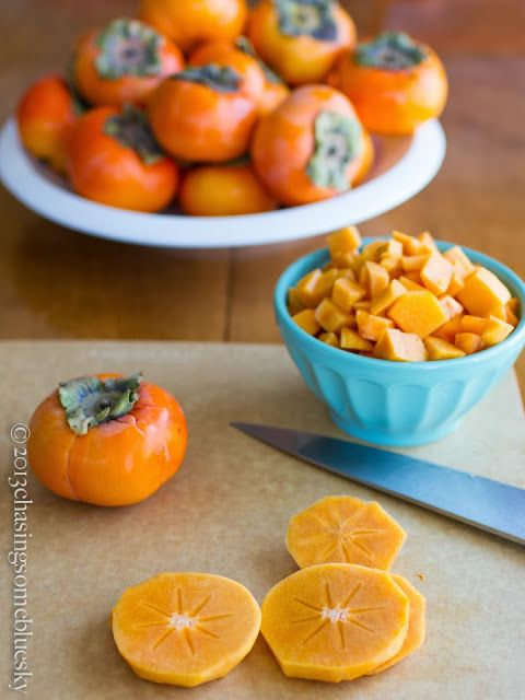 Chasing Some Blue Sky: Persimmon Turnovers