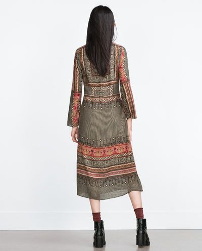 Image 5 of PRINTED DRESS from Zara