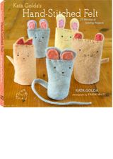 Kata Golds's Sweet book of simple hand stitching.: