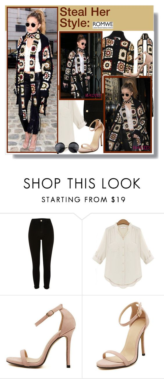 """""""Steal her style: Gigi Hadid"""" by aminkicakloko ❤ liked on Polyvore featuring River Island"""