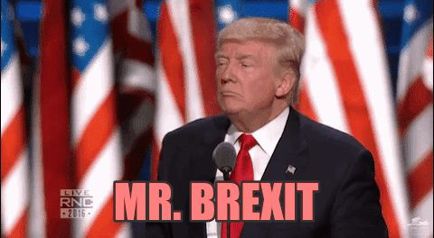 donald trump gop brexit election2016 mr brexit trending #GIF on #Giphy via #IFTTT http://gph.is/2bAWzMu
