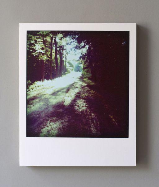 Dekoration in Polaroid-Optik.  Durch Die Tiefe des Holzes (1,5 cm) kann man das Bild ganz einfach als Dekorationsobjekt ins Regal stellen, es mus...