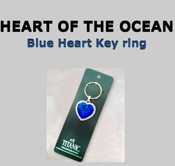 DIY Take a blue dog collar and a heart of the ocean keychain and attach the keychain to the collar and now you have a heart of the ocean for your own dog. <3.  Creator: Hannah E. All Rights Reserved