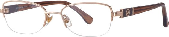 #Classic frames for any occasion. Michael Kors Gold Oval Frames for Women | Visionworks