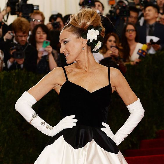 Sarah Jessica Parker dazzled in Fred Leighton jewels at the Met Gala.