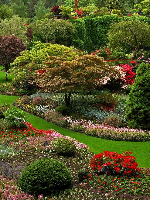 Colors Of Summer Butchart Gardens By Raje Esteban