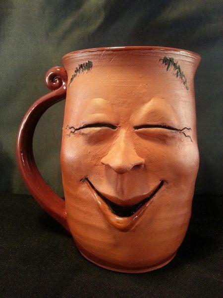 Face Mug from Lakeside Studio Pottery.  Smile please...