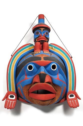 Lelooska rainbow transformation mask