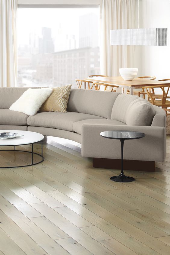For those who love contemporary lines but seek extreme comfort, the Hess sectional is the perfect place to unwind.
