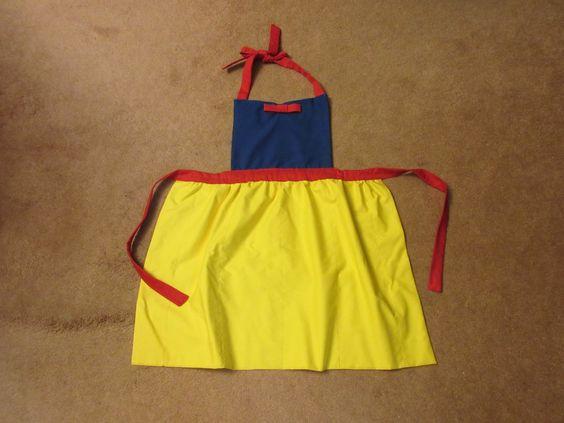 """Disney inspired """"Snow White"""" apron"""
