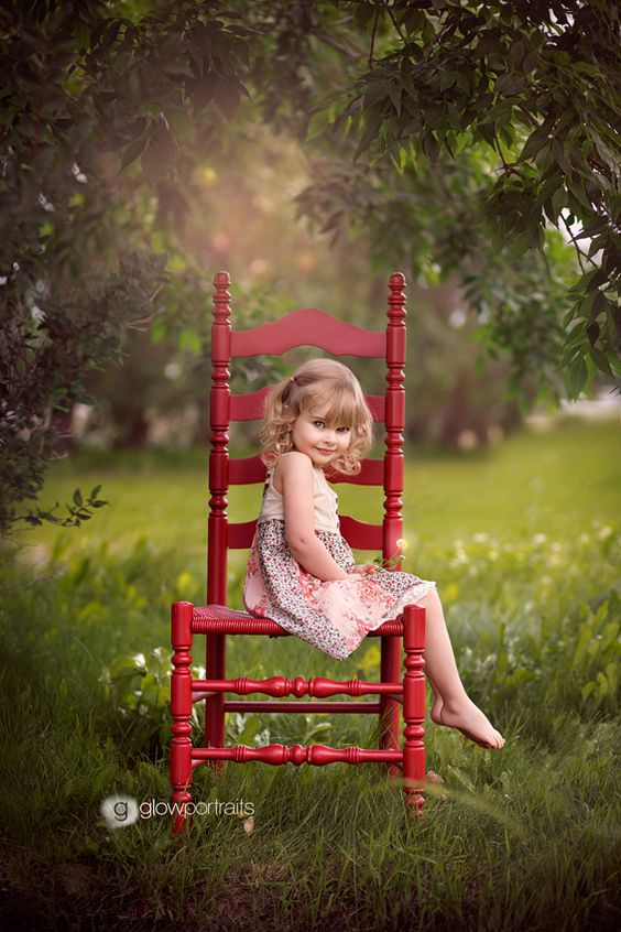 Beautiful edit. Love the red chair!
