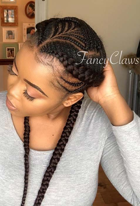 43 Two Braids Hairstyles Perfect For Hot Summer Days Page 2 Of 4 Stayglam Two Braid Hairstyles Hair Styles Braided Hairstyles
